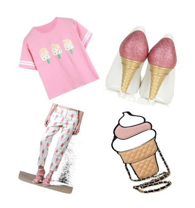 """Icey Cream Creamy Ice"" by hellokittyrox20 on Polyvore"