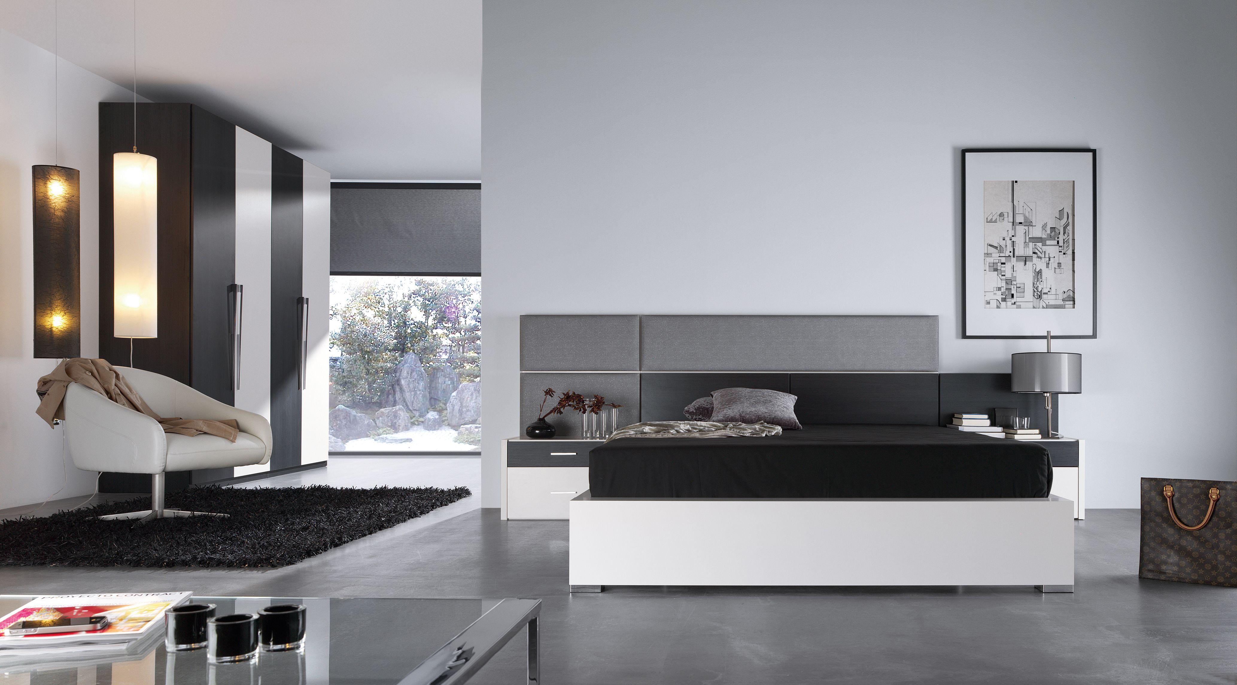 Dormitorio de matrimonio modelo abie habitaciones for Muebles habitaciones matrimonio