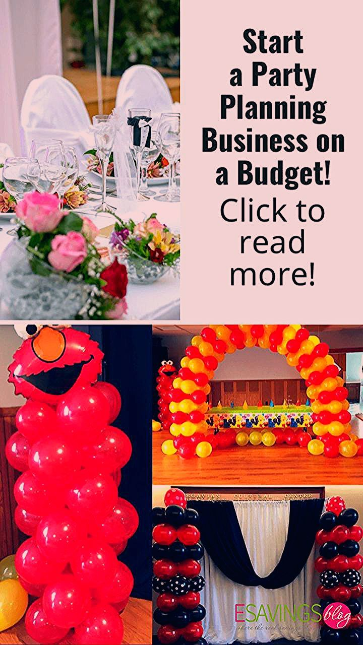Start a Party Planning Business on a Budget!