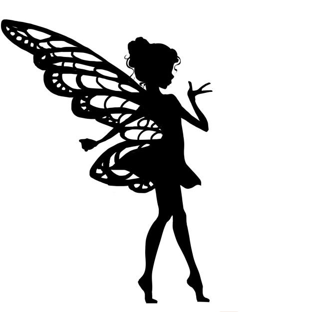 Light up your kid 39 s night with these magical fairy for Fairy cut out template