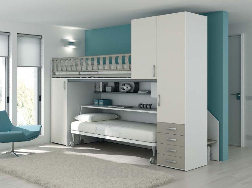 Современная комната для двух подростков от фабрики  Moretti Compact