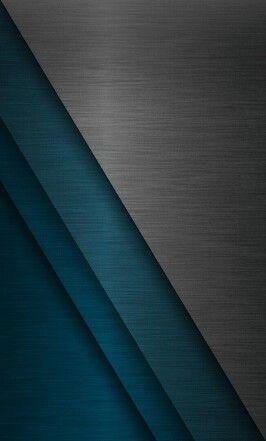 Sleek Grey And Teal Geometric Wallpaper