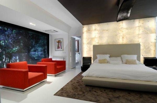 Ultra modern interior featuring futuristic architecture adorable