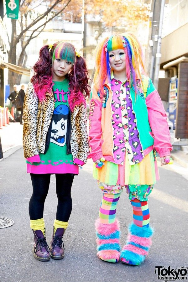 Living Cartoons In A Good Way Harajuku Girls