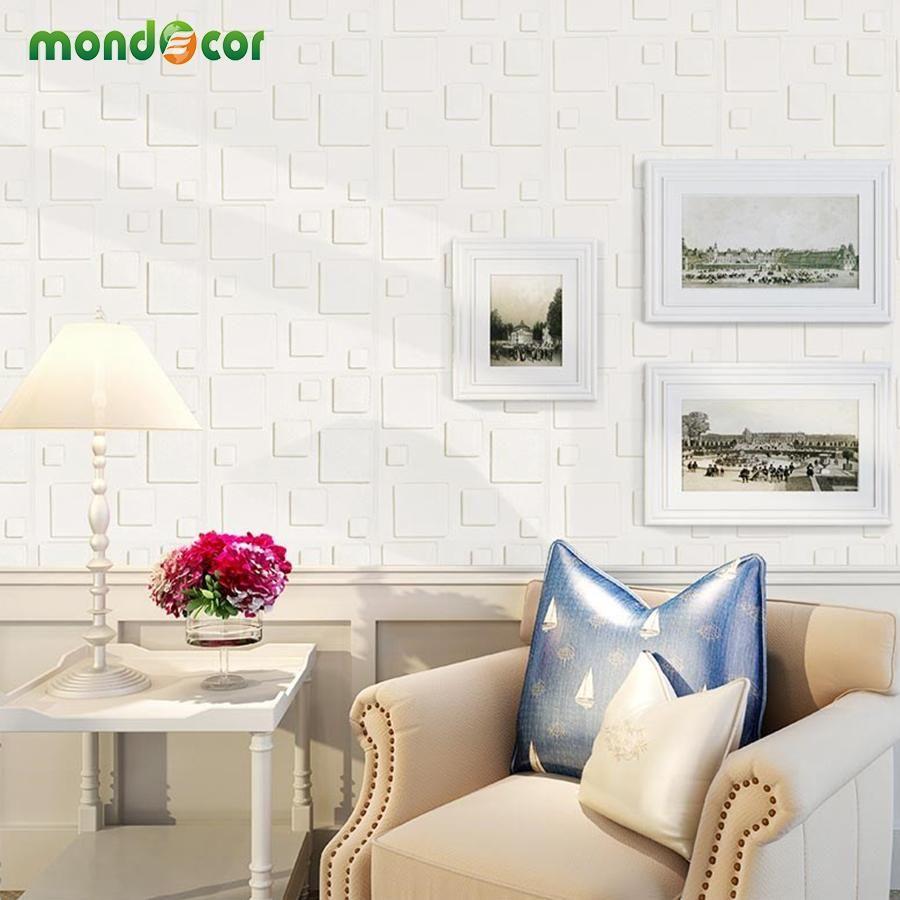 Buy Diy Self Adhesive 3D Wall Panels Bedroom Home Decor Foam Brick ...