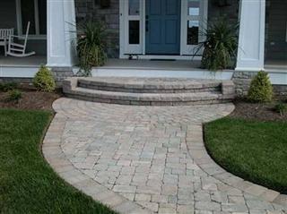 front porch ideas steps