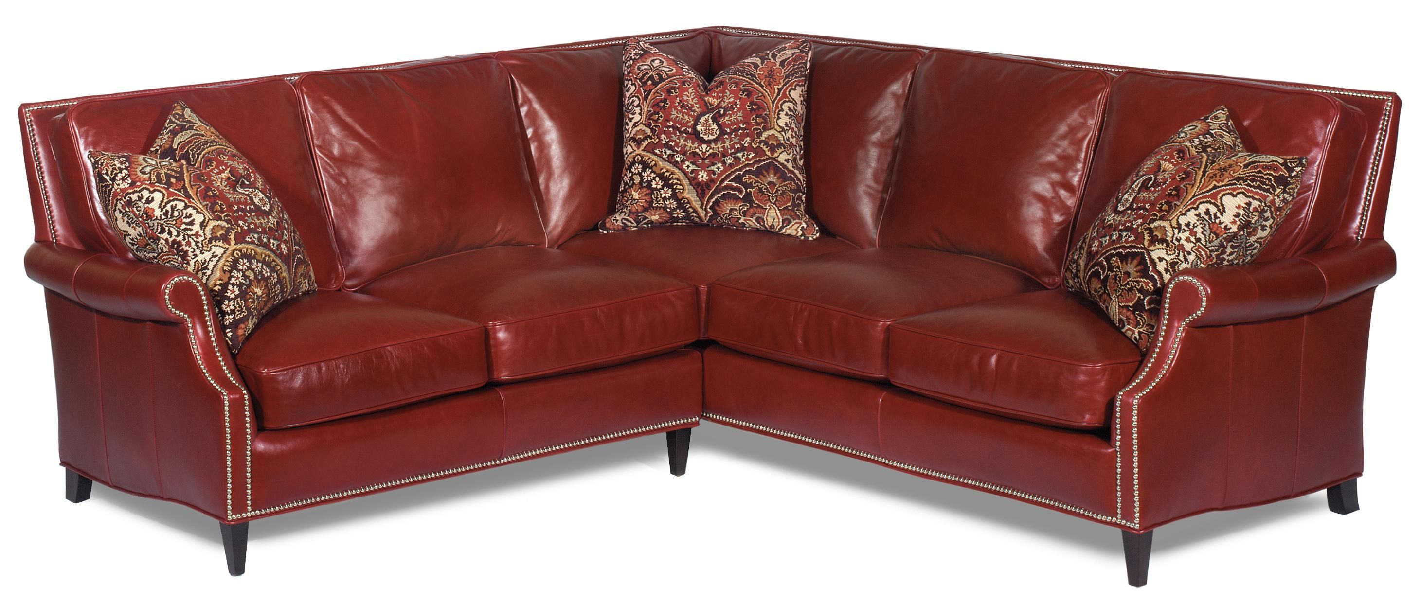 Pleasant Bradington Young Tappan Contemporary Leather Sectional With Andrewgaddart Wooden Chair Designs For Living Room Andrewgaddartcom