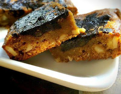 Gluten-Free, Vegan Marbled Banana Walnut Brownies