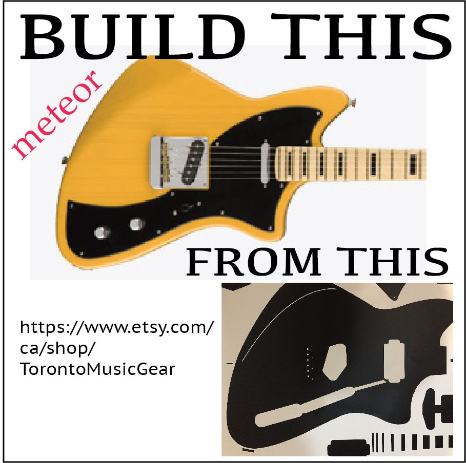 medium resolution of  fender amp wiring diagram meteor shape guitar routing template 2019 style with neck and pickup on gibson lp wiring diagram