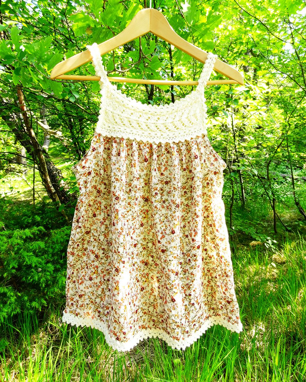 Knit and Crochet Yokes for Tops, Dresses – 11 free patterns ...
