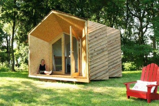 Diy Hermit Houses Tiny Off Grid Customizable Living