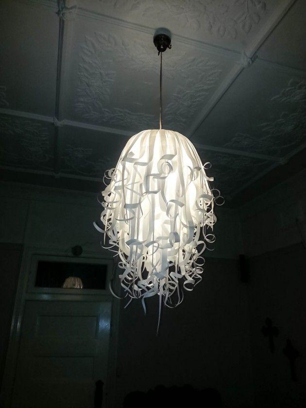 25 Artistic Handmade Paper Lampshades Lighting Thingys I Love