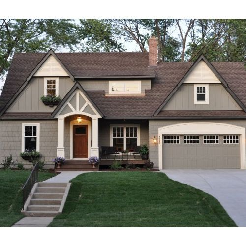 Brown Roof Ideas Pictures Remodel And Decor House Paint Exterior House Exterior Exterior Paint Colors For House