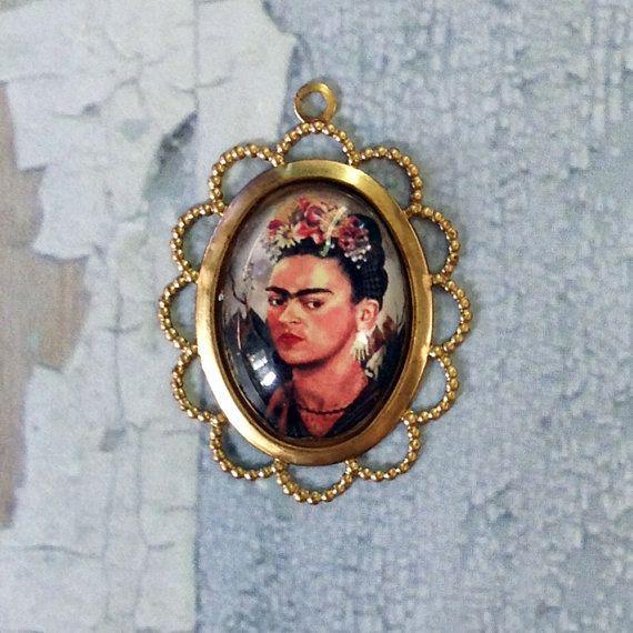 Frida Kahlo Flowers in Hair pretty filigree by MyVintageCharms