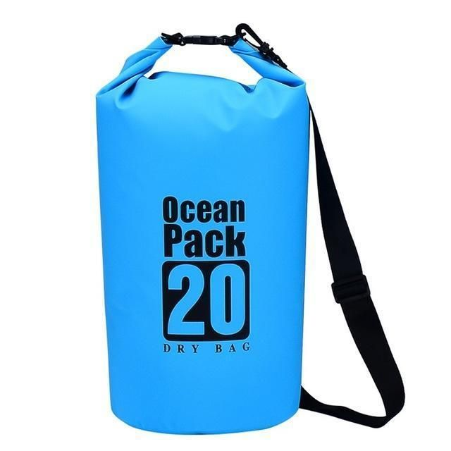 Photo of 5L/10L/20L Waterproof Dry Bag Sack Pouch Canoe Boating Kayaking Camping