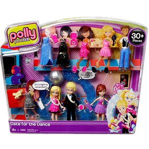 Polly Pocket Fashion Set Sparkle Party Modas Brillantes