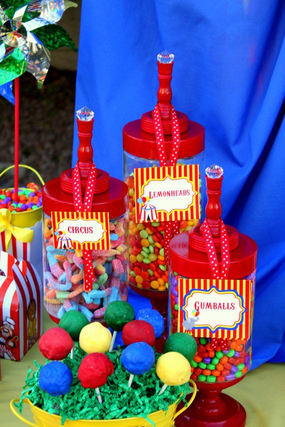 CIRCUS Party  The GREATEST SHOW On Earth  Place by KROWNKREATIONS, $4.99