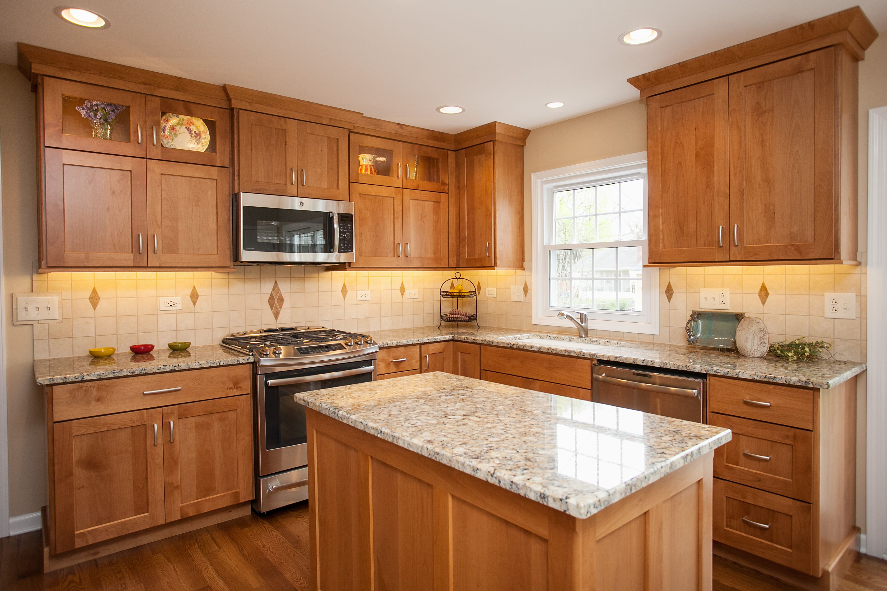 Natural oak cabinets google search interiors for Alder kitchen cabinets pictures