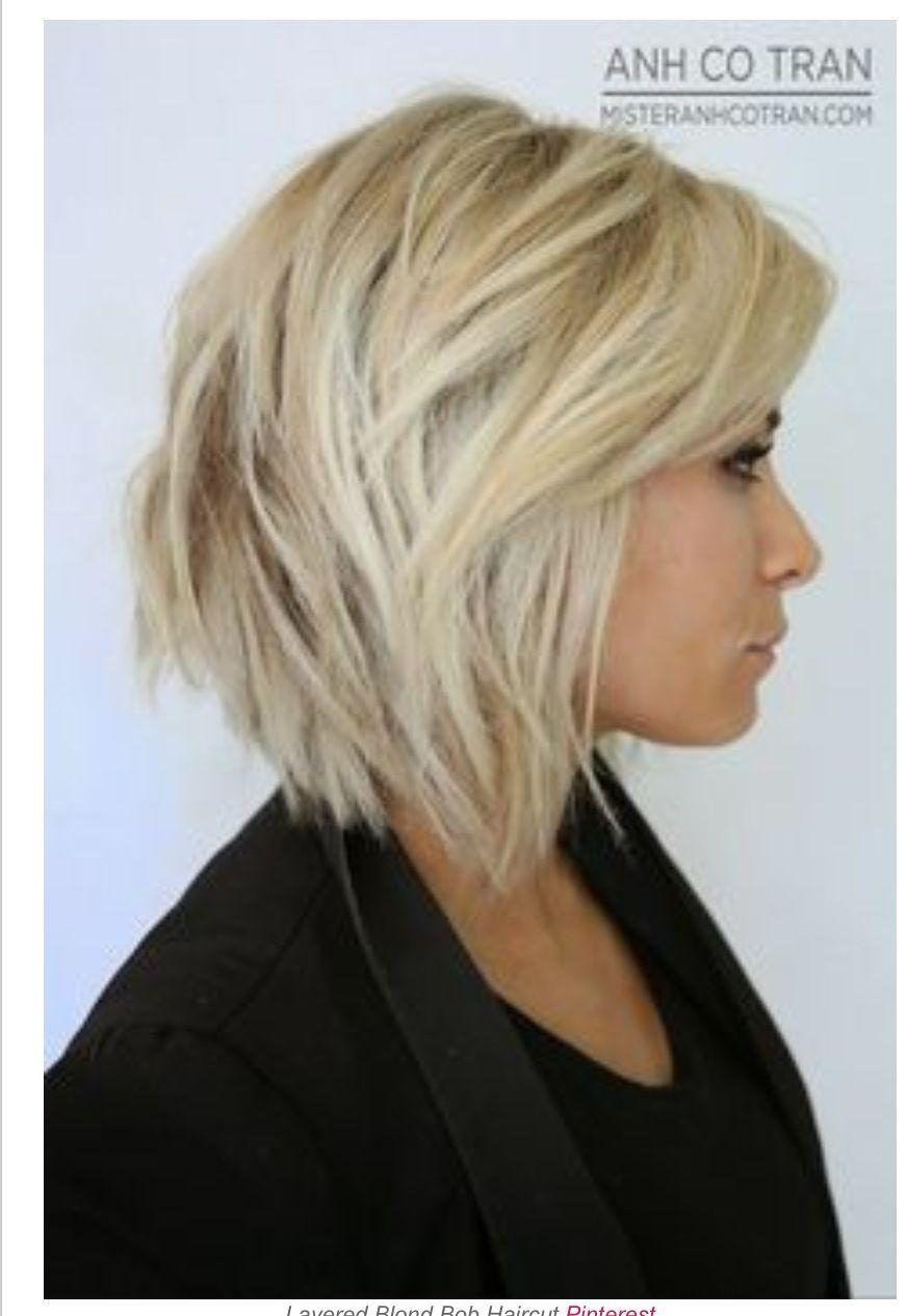 Chunky medium length bob hair u makeup pinterest medium length