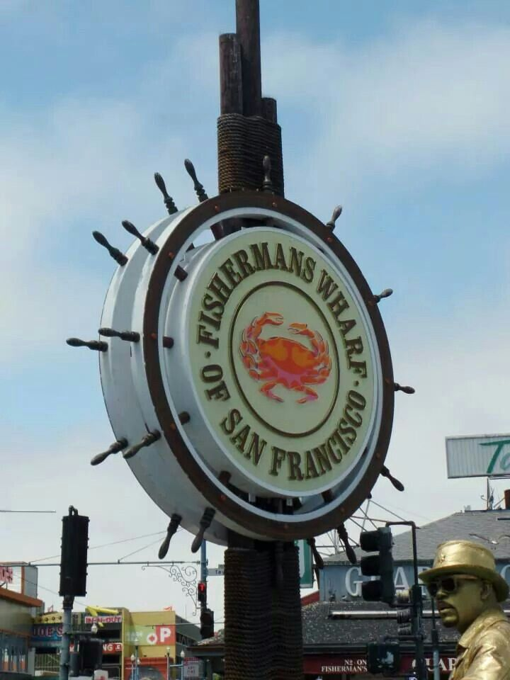 Visit Fisherman's Wharf. Check!