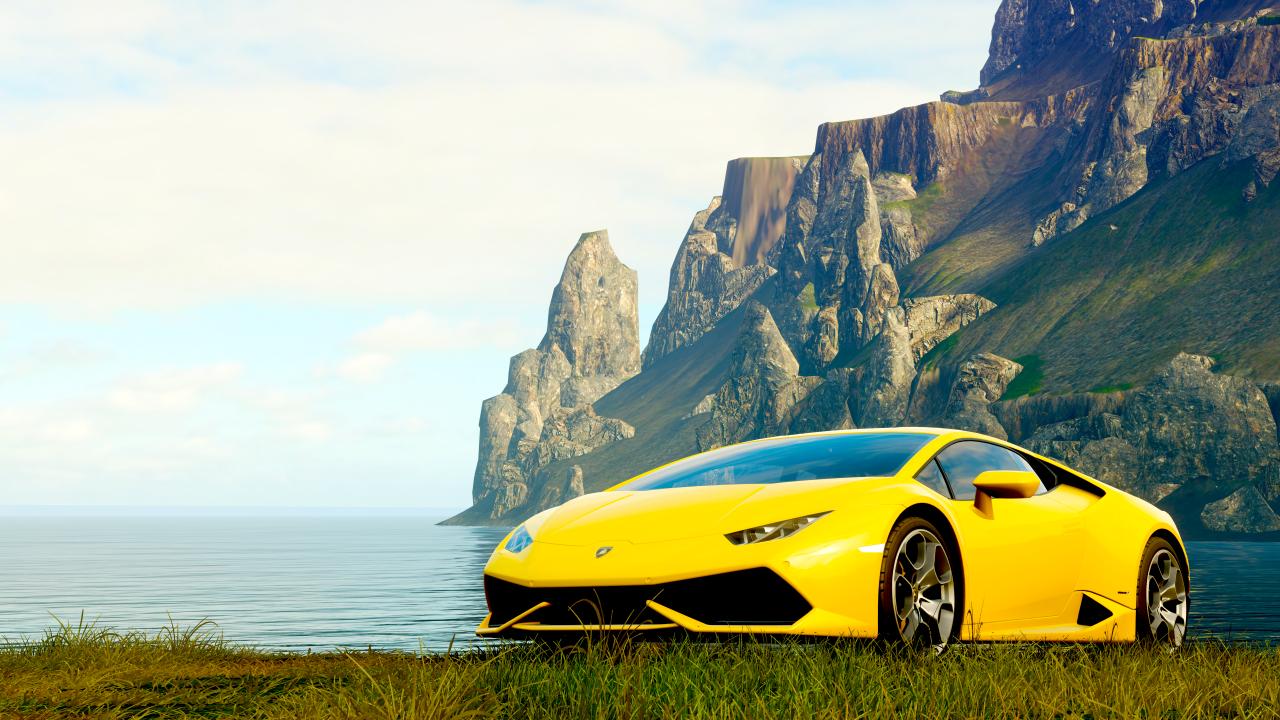Forza Horizon 4 Wallpaper 4k Full Hd Hd Lamborghini Huracan
