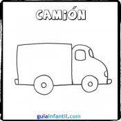 Como Dibujar Un Camion Dibujos De Transportes Para Ninos Medios De Transporte Actividades De Arte Para Preescolares Transporte Preescolar