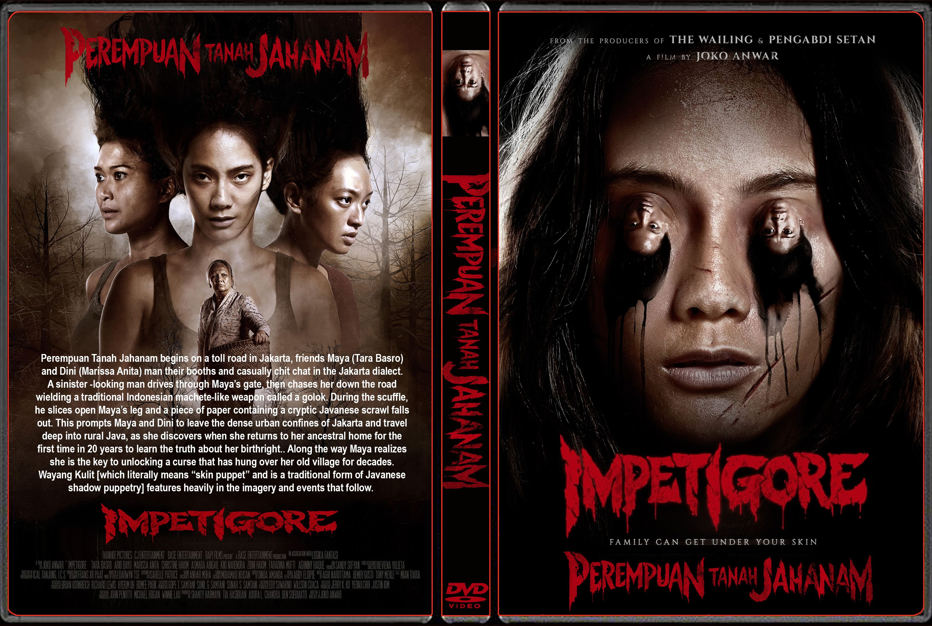 Perempuan Tanah Jahanam Aka Impetigore 2019 In 2021 Dvd Covers Horror Movie Fan Pengabdi Setan