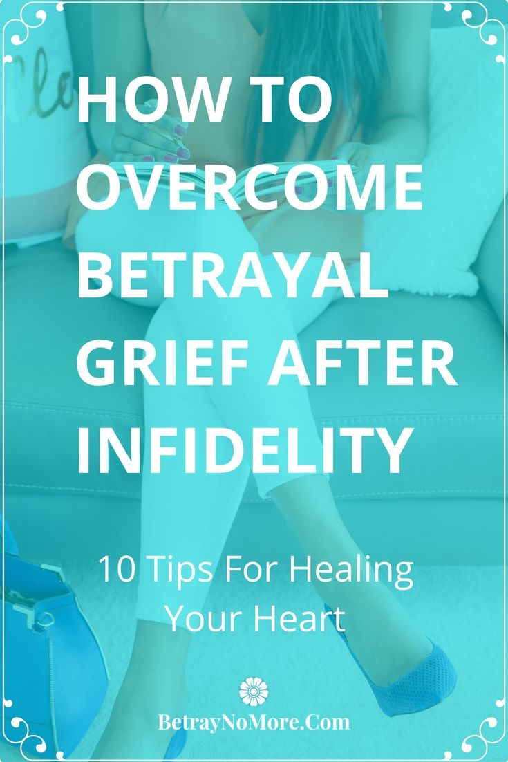 Helping your spouse heal from your betrayal