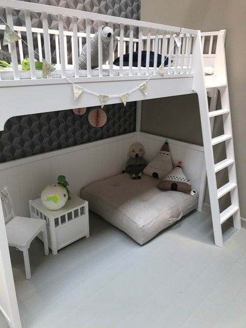 meet cf080 47957 Seaside Loft Bed in White by Oliver Furniture | Kids Bedroom ...