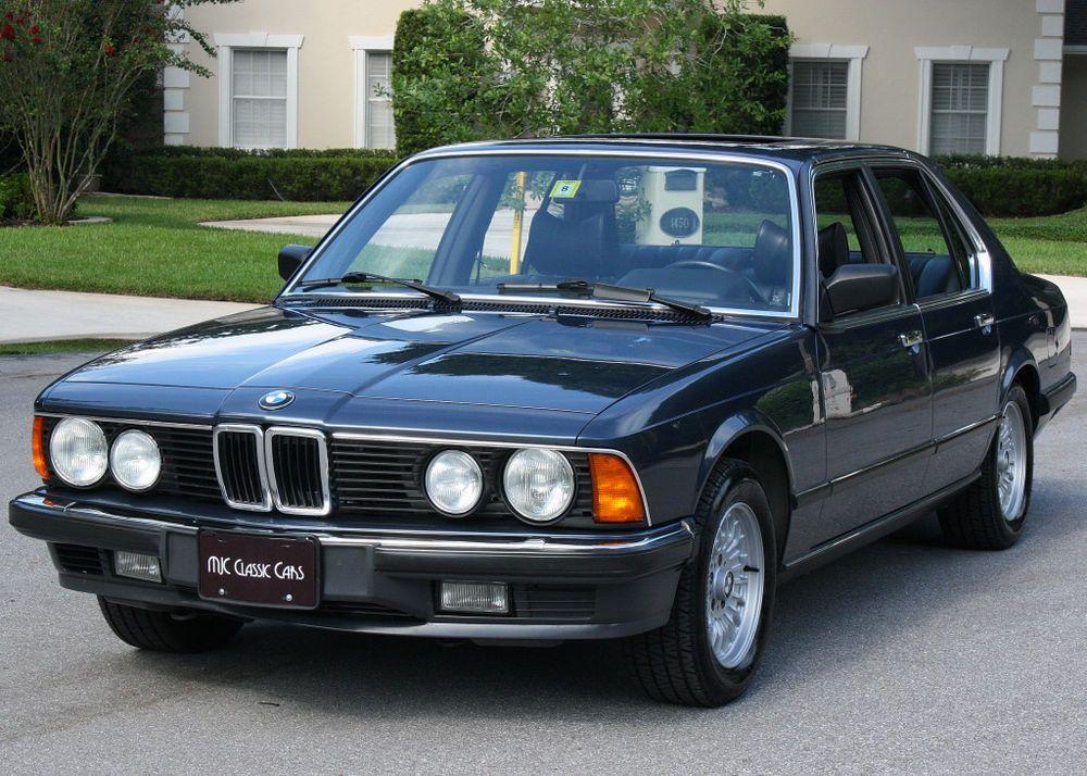 1985 BMW 7Series 745i TURBO GRAY MARKET 33K MI Bmw
