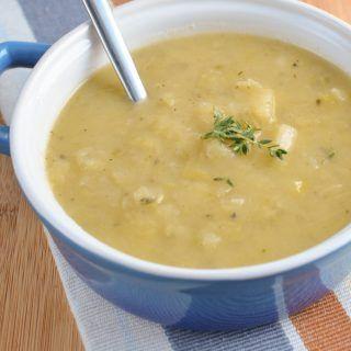 Chunky Leek and Potato Soup