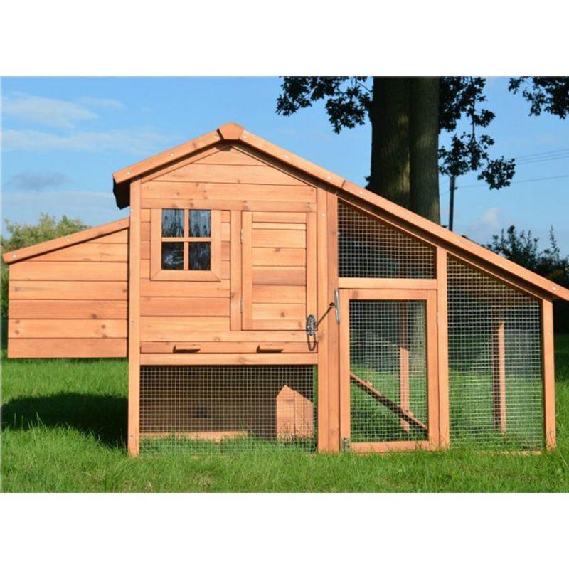 poulailler en bois pour jardin extérieure 25 poules cage