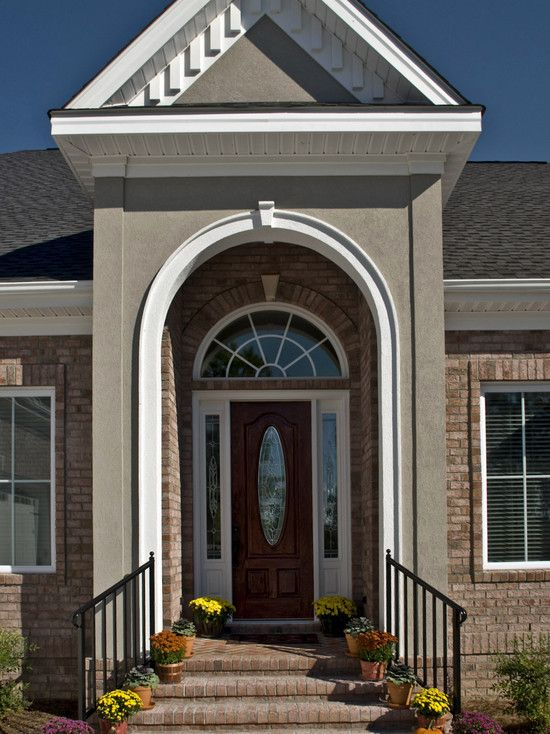 Nice Front Moulding Design Of House Part - 6: Traditional Spaces Front Portico Design, Pictures, Remodel, Decor And Ideas  - Page 16