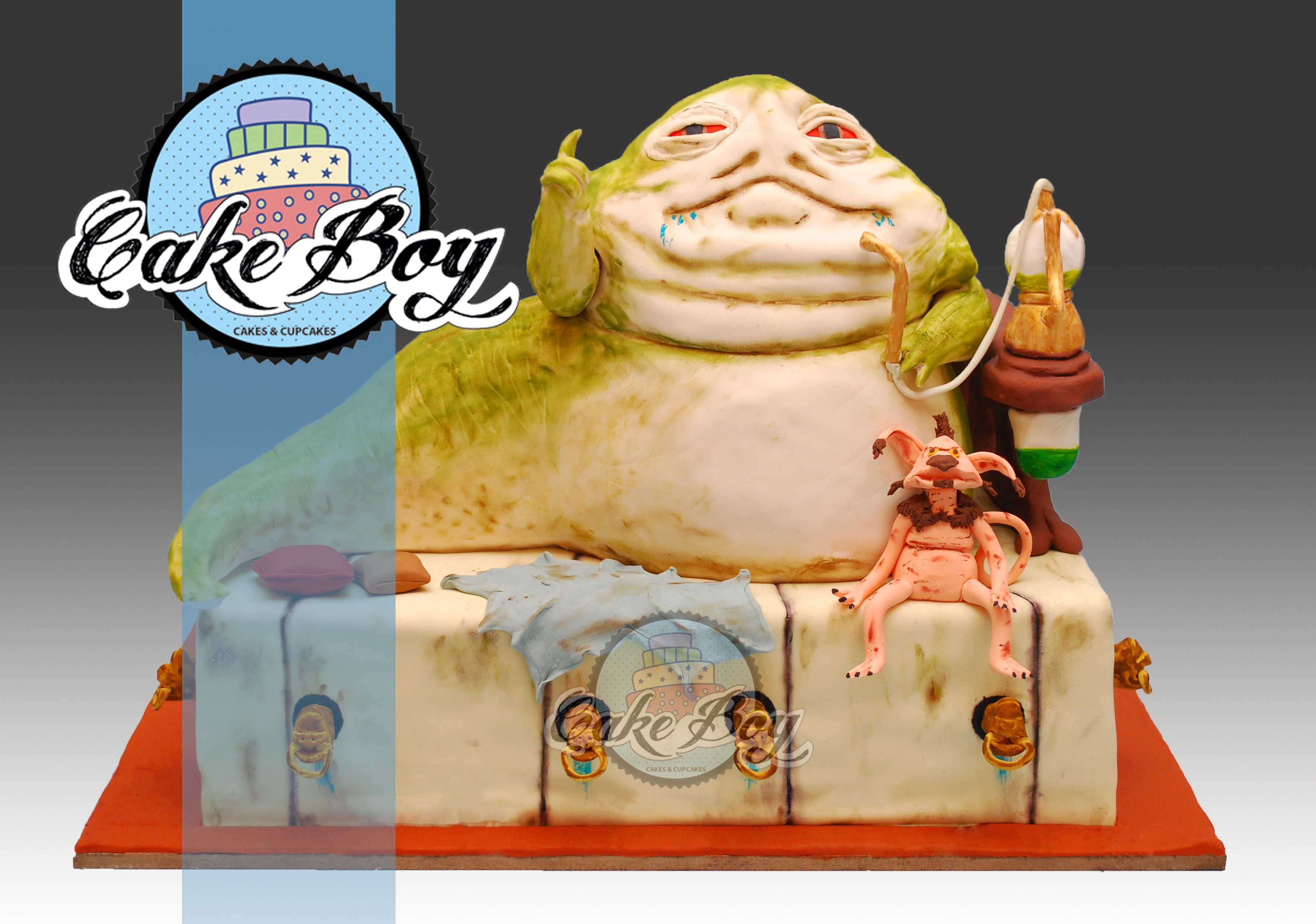 Jabba The Hutt Cake From Star Wars