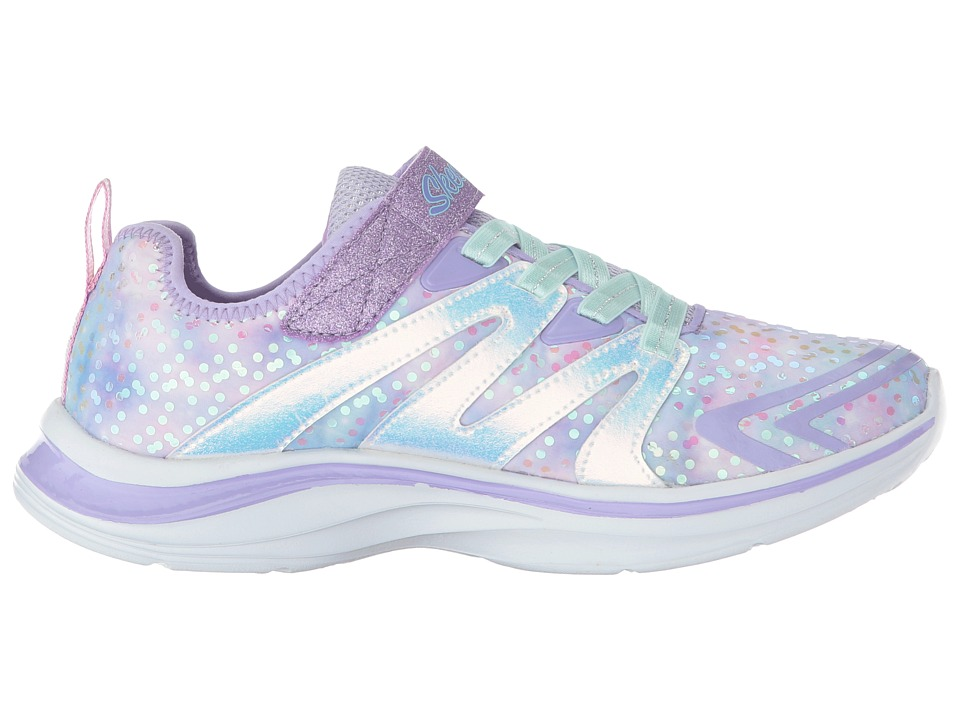 fce1cfce6992 SKECHERS KIDS Double Dreams 81421L (Little Kid Big Kid) Girl s Shoes  Lavendar Multi