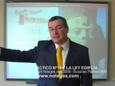 N104 - LA LEY EGIPCIA