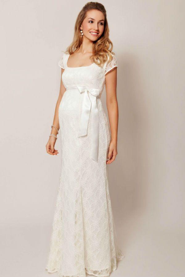 Wie wählt man Mutterschaft Brautkleider   Here Comes the Bride ...