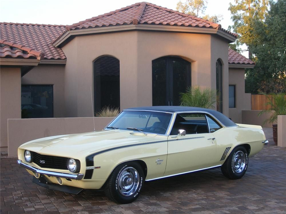 1969 CHEVROLET CAMARO SS COUPE – Barrett-Jackson Auction Company – World's Greatest Collector Car Auctions