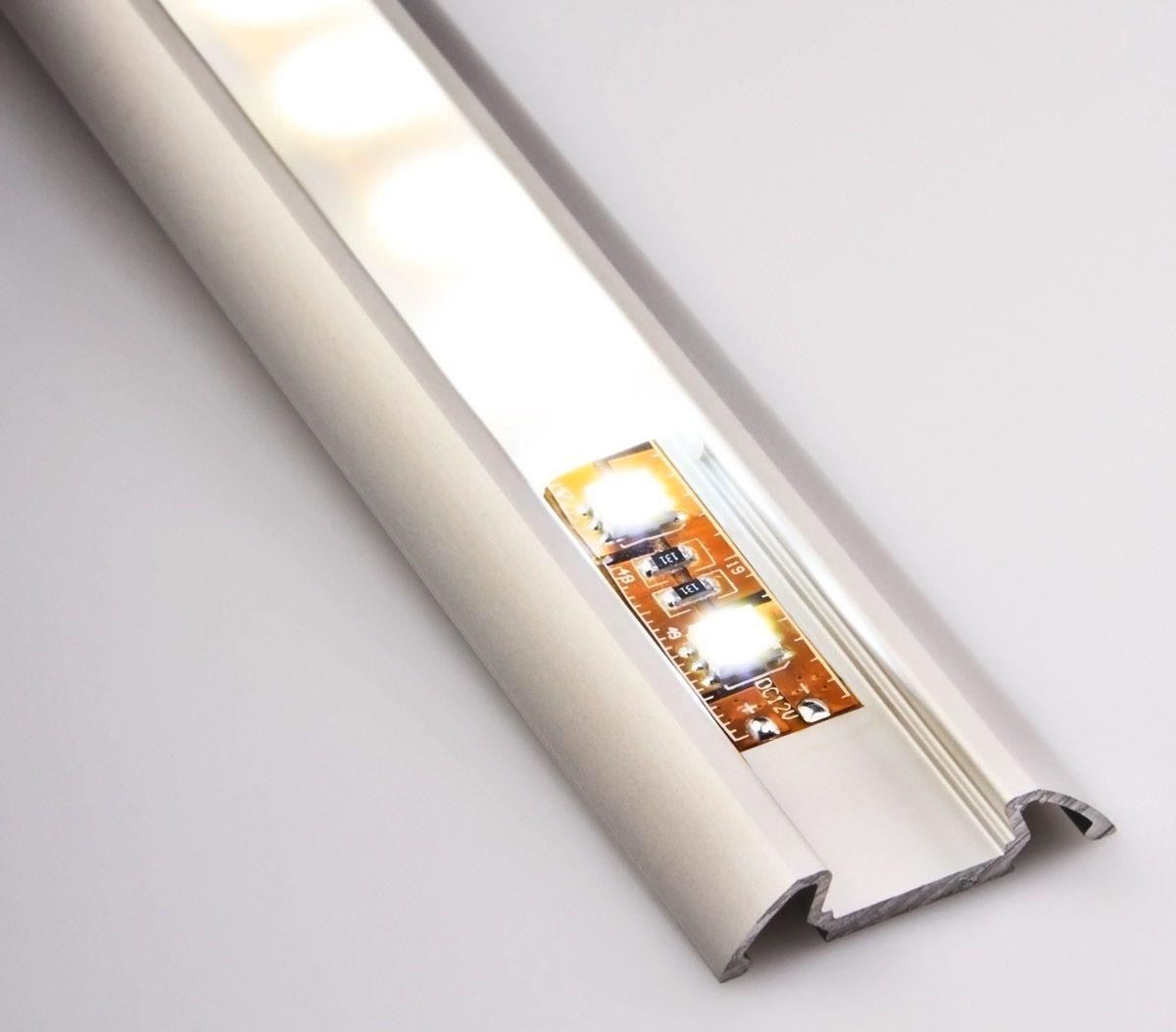 Angled Surface Mount Aluminum Profile Housing for LED