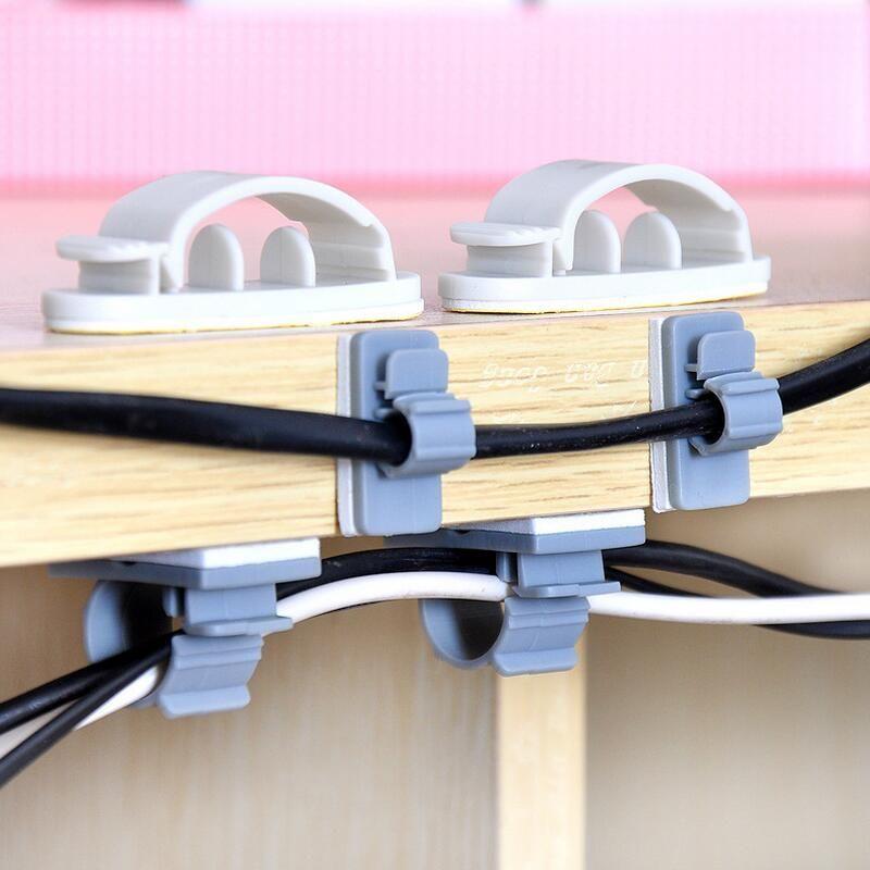 15 Stücke oder 10 stücke Klebstoff Haushalts kabel Halter regale ...
