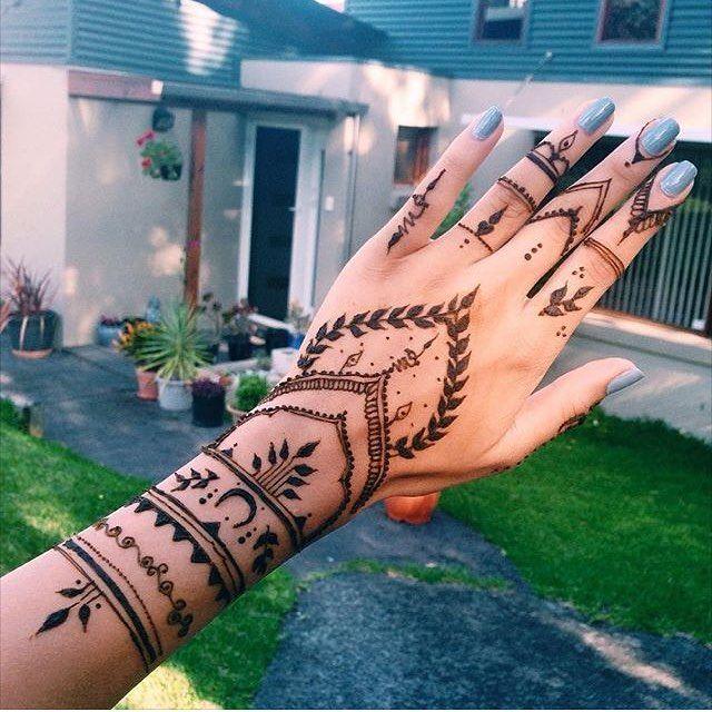 Henna Ilavhenna Henna Patterns Henna