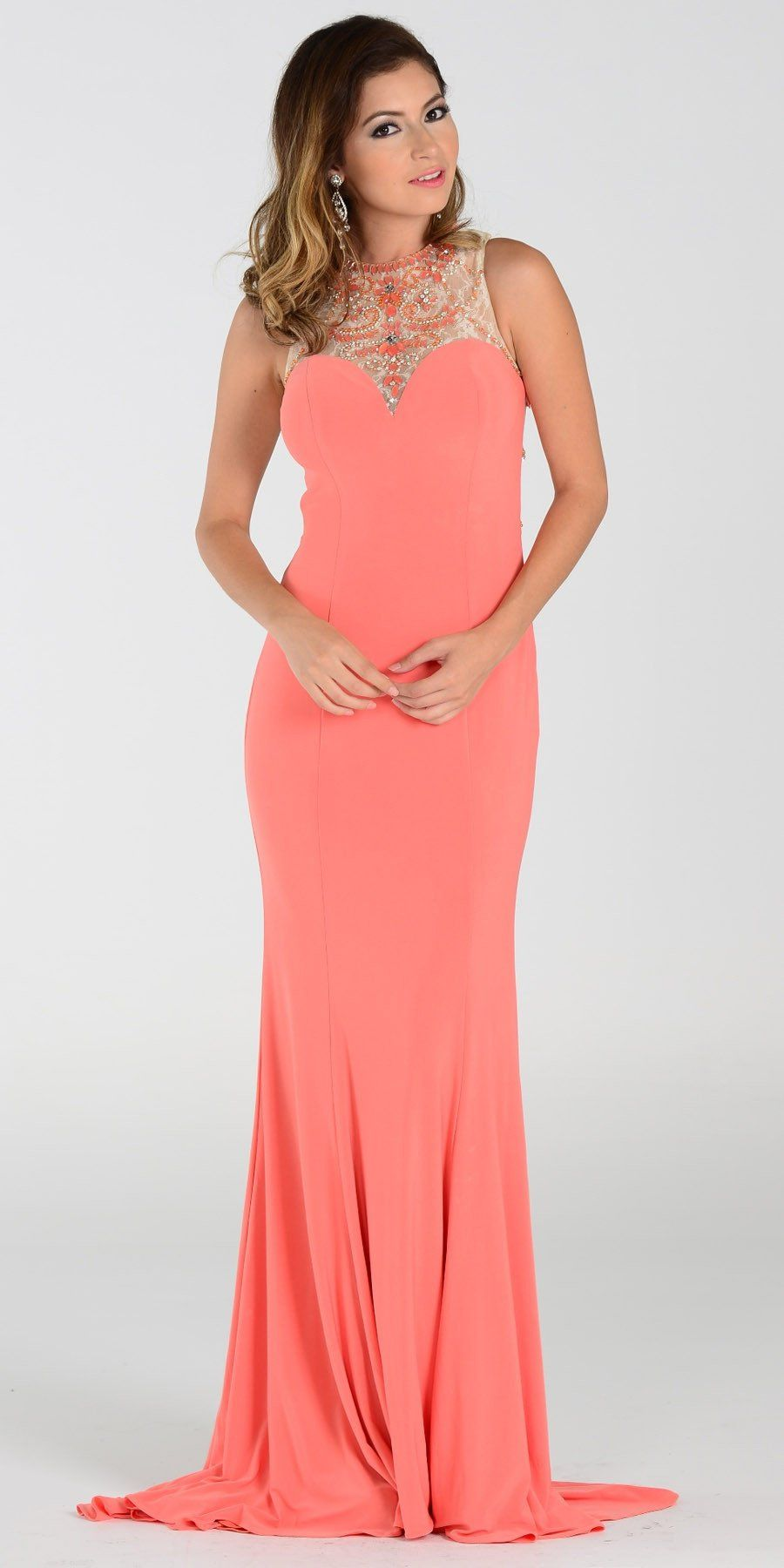 On special limited stock poly usa ity stretch long prom dress