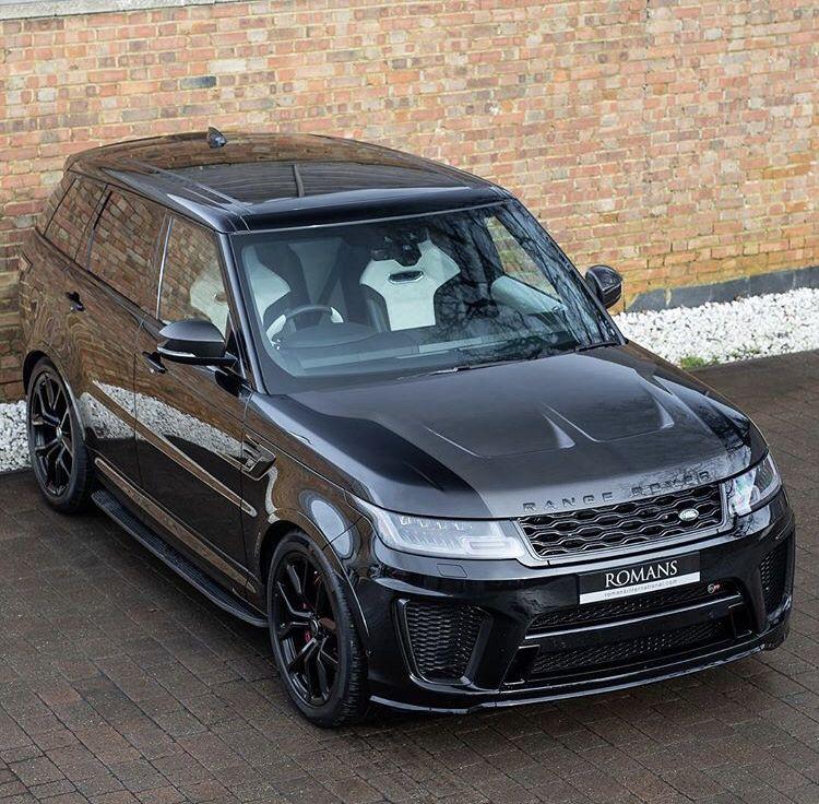 2019 Used Land Rover Range Rover Sport Svr Autos, Fotos