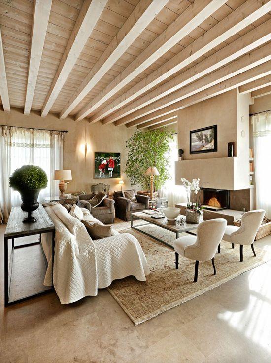 Paseando a trav s de las habitaciones de esta casa en italia es f cil imaginarse en alg n lugar - Camino a casa decoracion ...
