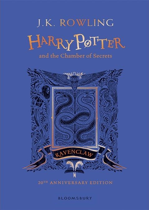 Bildergebnis für Harry Potter Harry Potter and the Chamber of Secrets. Ravenclaw Edition