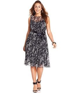 6391ce9f0dc88 Plus Size Dresses at Macy s - Womens Plus Size Dresses - Macy s ...