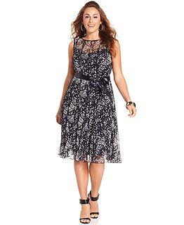 Plus Size Dresses at Macy\'s - Womens Plus Size Dresses ...