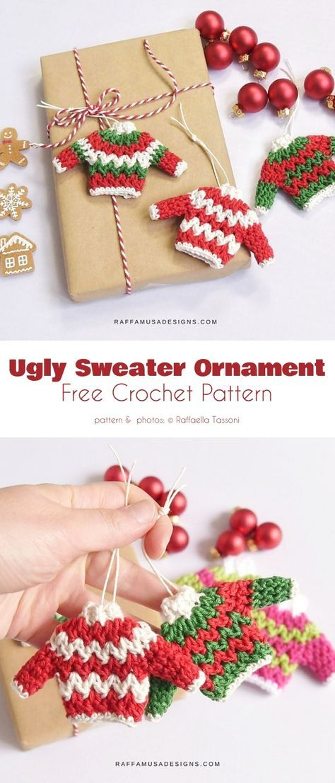 Photo of Tiny Christmas Decorations Free Crochet Patterns