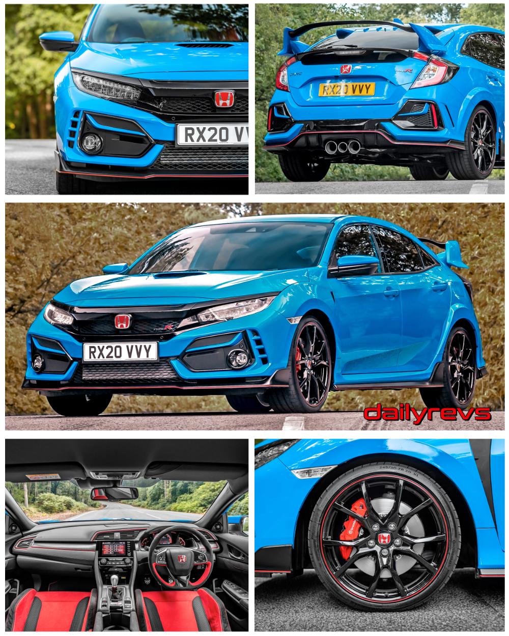 2020 Honda Civic Type R UK Version Dailyrevs in 2020