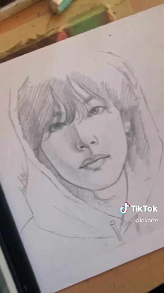 Photo of How to draw tae with guidelines